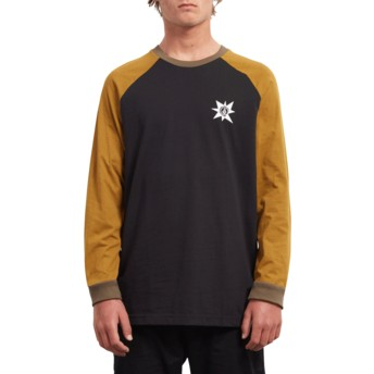 Volcom Hazelnut A.P. Brown Long Sleeve T-Shirt