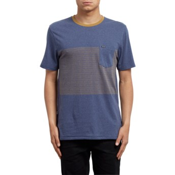Volcom Deep Blue Threezy Blue T-Shirt