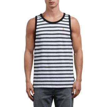 Volcom White Briggs White Sleeveless T-Shirt