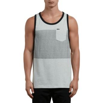 Volcom Mist Threezy Grey Sleeveless T-Shirt