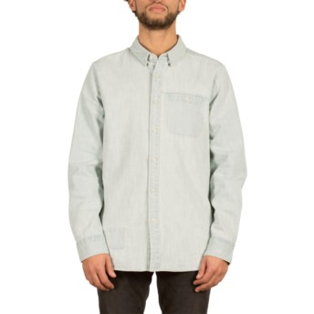 Volcom Cool Blue Crowley Blue Long Sleeve Shirt