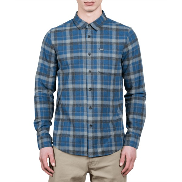 volcom-smokey-blue-caden-blue-long-sleeve-check-shirt