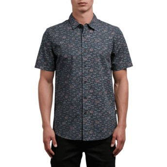 Volcom Stealth Burch Black Short Sleeve Shirt