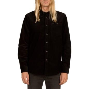 Volcom Black Lomax Black Long Sleeve Shirt