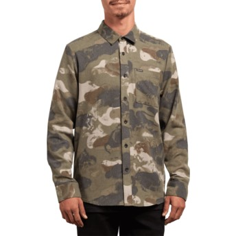 Volcom Camouflage Dragstone Camouflage Long Sleeve Shirt