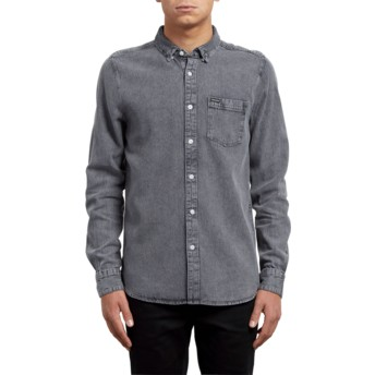 Volcom Classic Grey Grey Long Sleeve Shirt