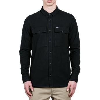 Volcom Black Ketil Black Long Sleeve Shirt