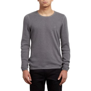 Volcom Heather Grey Sundown Grey Sweater