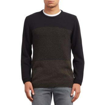 Volcom Black Bario Update Black Sweater