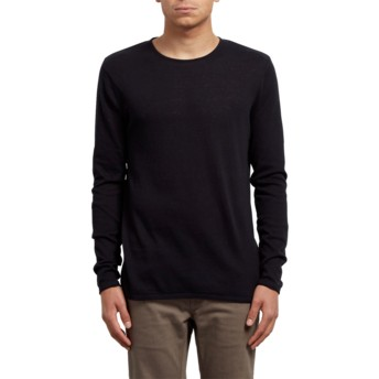 Volcom Black Harweird Black Sweater