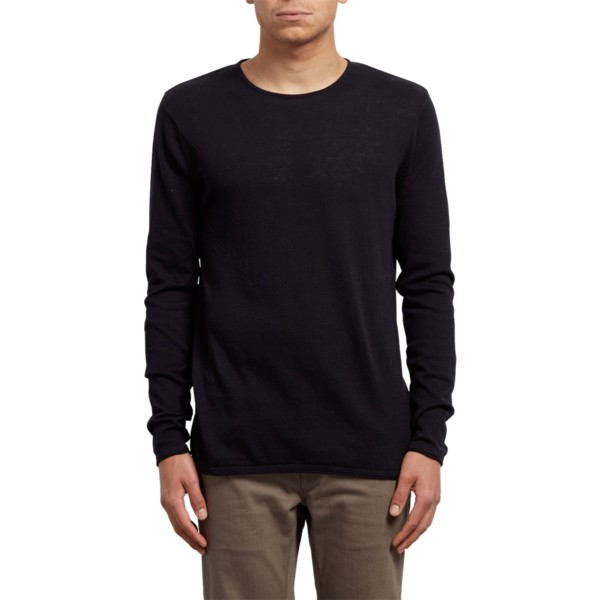 volcom-black-harweird-black-sweater