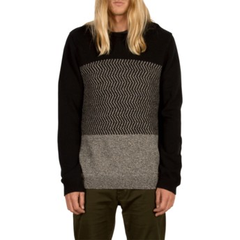 Volcom Black Bario Black Sweater