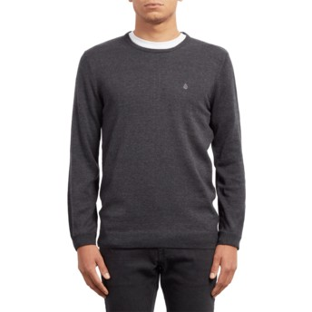 Volcom Black Uperstand Black Sweater