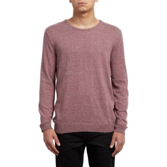 Volcom Crimson Uperstand Red Sweater