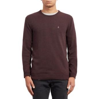 Volcom Multi Uperstand Maroon Sweater