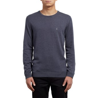 Volcom Navy Uperstand Navy Blue Sweater
