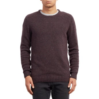 Volcom Multi Edmonder Maroon Sweater