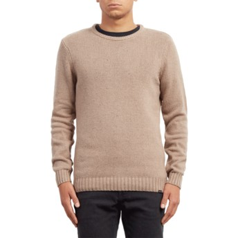 Volcom Stealth Edmonder Beige Sweater