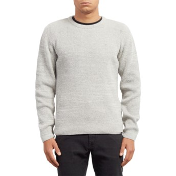Volcom Heather Grey Baltimore Grey Sweater