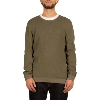 Volcom Military Sundown Green Sweater