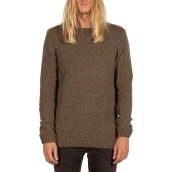 Volcom Stealth Edmonder Brown Sweater