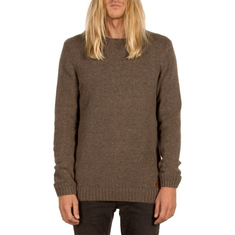 ad6862c3 Volcom Stealth Edmonder Brown Sweater