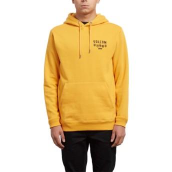 Volcom Tangerine Reload Yellow Hoodie Sweatshirt