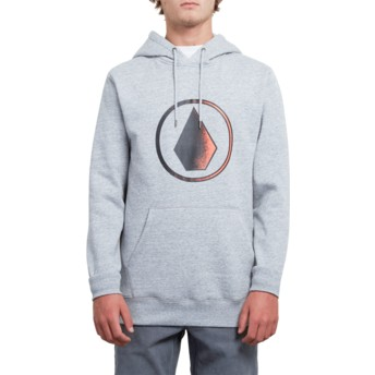 Volcom Storm Supply Stone Black Hoodie Sweatshirt