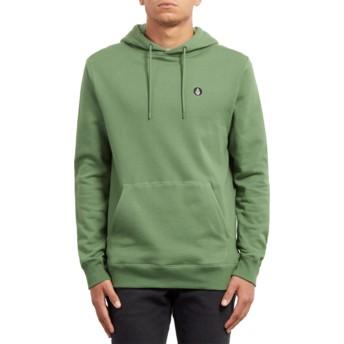 Volcom Dark Kelly Single Stone Green Hoodie Sweatshirt