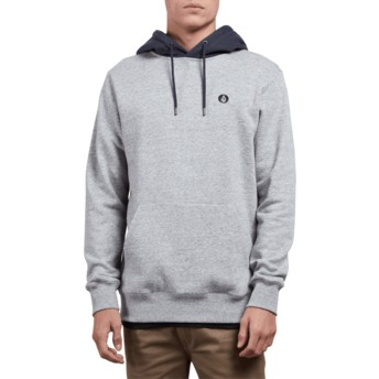 Volcom Storm Single Stone Grey Hoodie Sweatshirt