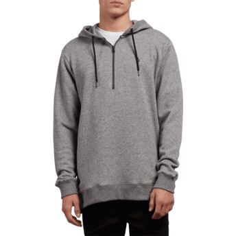 Volcom Grey Index Grey Hoodie Sweatshirt