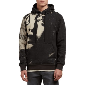 Volcom Black Noa Noise Black Hoodie Sweatshirt
