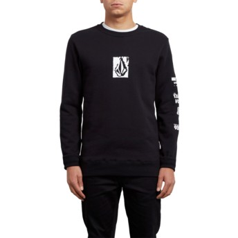 Volcom Black Supply Stone Black Sweatshirt