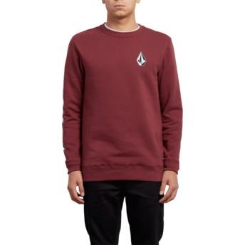 Volcom Crimson Supply Stone Red Sweatshirt
