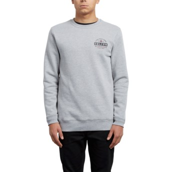 Volcom True To This Grey Supply Stone Grey Sweatshirt