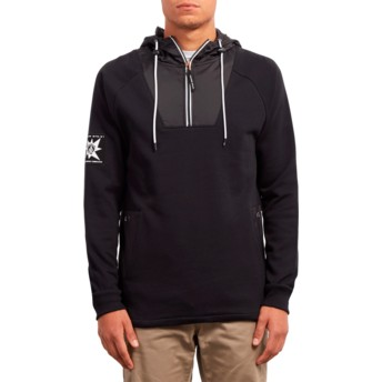Volcom Black A.P. Black Hoodie Sweatshirt