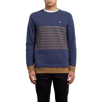 Volcom Deep Blue Threezy Blue Sweatshirt