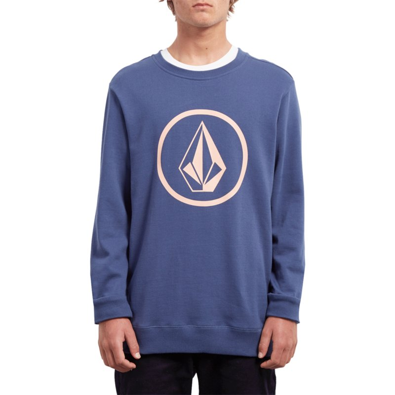 fd947556 Volcom Matured Blue Stone Blue Sweatshirt