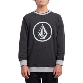 Volcom Sulfur Black Stone Black Sweatshirt