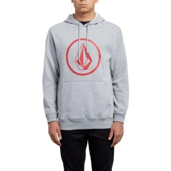 Volcom Grey Stone Grey Hoodie Sweatshirt