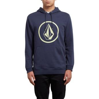 Volcom Indigo Stone Navy Blue Hoodie Sweatshirt