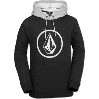 Volcom Sulfur Black Stone Black Hoodie Sweatshirt