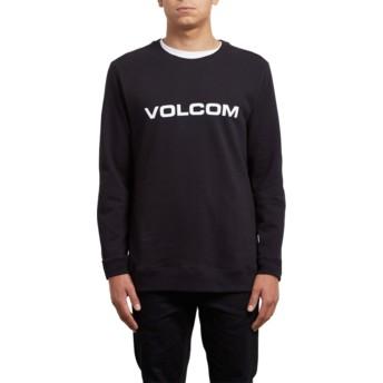 Volcom Black Imprint Black Sweatshirt