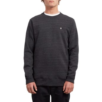 Volcom Sulfur Black Single Stone Black Sweatshirt