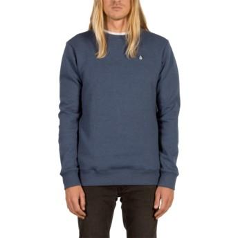 Volcom Smokey Blue Single Stone Blue Sweatshirt