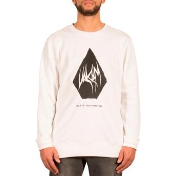 Volcom Cloud Supply Stone White Sweatshirt