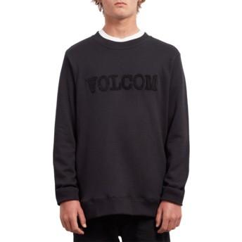 Volcom Black Cause Black Sweatshirt