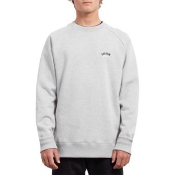 Volcom Heather Grey Inthology Grey Sweatshirt