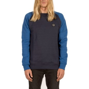 Volcom Navy Homak Navy Blue Sweatshirt