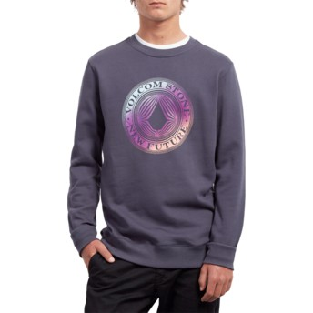 Volcom Midnight Blue Supply Stone Navy Blue Sweatshirt
